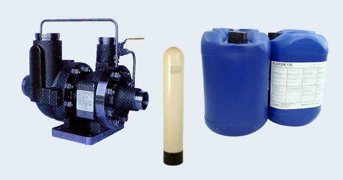 純水製造装置・水処理関連製品イメージ画像