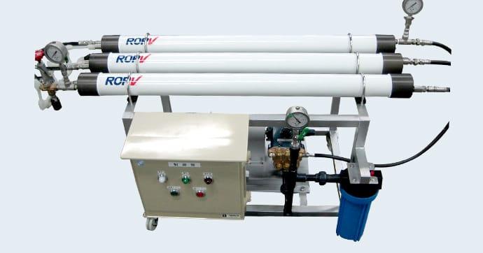 海水淡水化装置・逆浸透膜装置(RO装置)イメージ画像