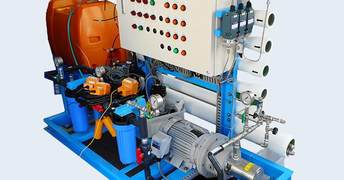 逆浸透膜テスト機イメージ画像