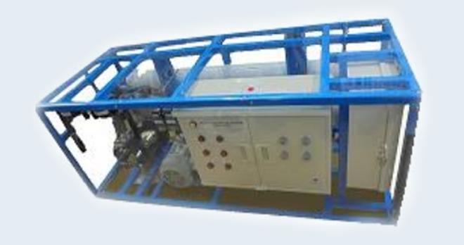 緊急用電気式海水淡水化装置の設置例画像