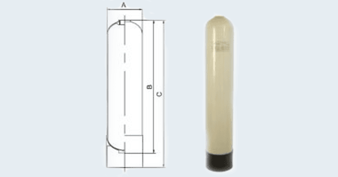 PE Lined Water Treatment Pressure Vesselsの図