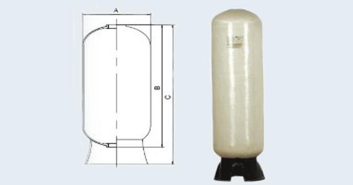 FRP Lined Water Treatment Pressure Vesselsイメージ画像
